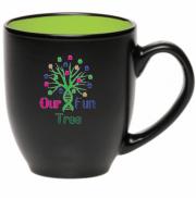 Our Fun Tree   16 oz Bistro Mug