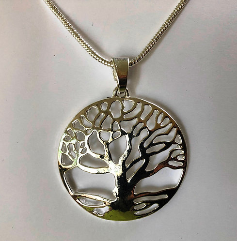 "Large Tree of Life 24"" Necklace"