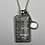 """Thumbnail: US Census Pendant and Magnifying Glass 16"""" Necklace"""