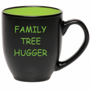 Family Tree Hugger   16 oz Bistro Mug