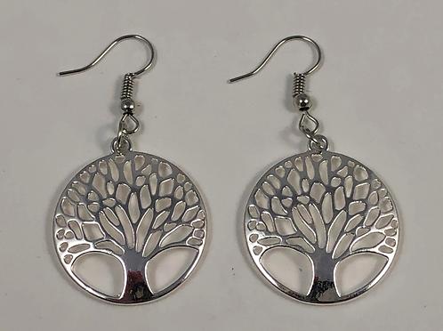 Round Tree earrings