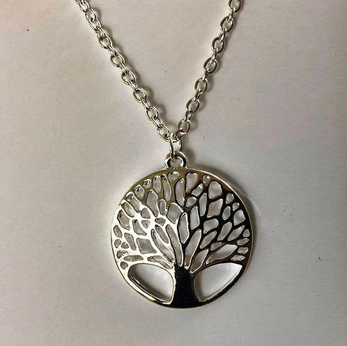 """Tree Necklace on 20"""" chain"""