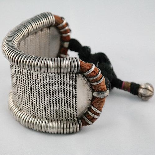 Silver Flexible Bazuband