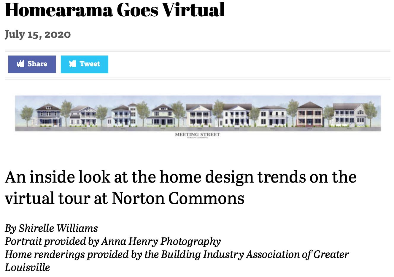 Homearama Goes Virtual