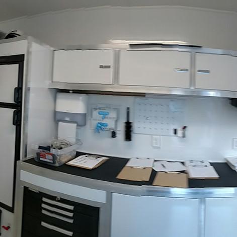 Mobile Laboratory Interior