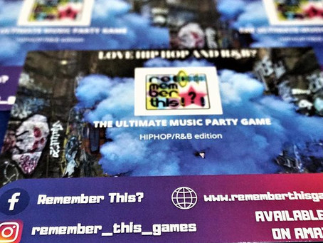 Remember this !?! HipHop and RnB music party game for adult game night.