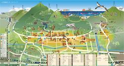 岩室温泉郷 地図制作