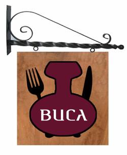 """レストラン""""BUCA""""看板制作"""