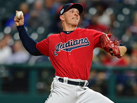 Karinchak excels for Cleveland in rookie season