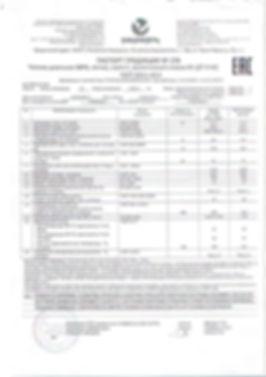 Паспорт качества на топливо дизельное ГОСТ 32511-2013