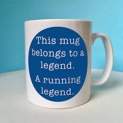 Running Legend Mug