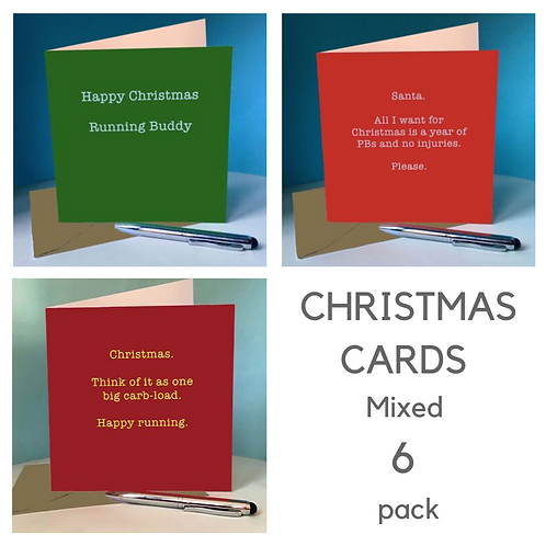 Christmas Cards - Mixed 6 pack