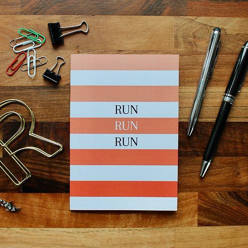 Run Run Run Notebook