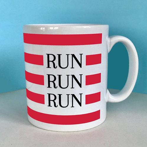 Run Run Run Mug