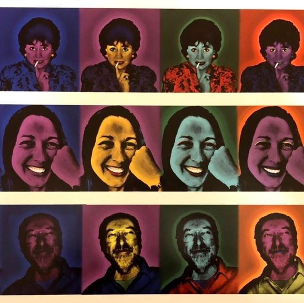 Family Portrait Pop Art