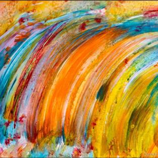 Imagine A Rainbow Wave