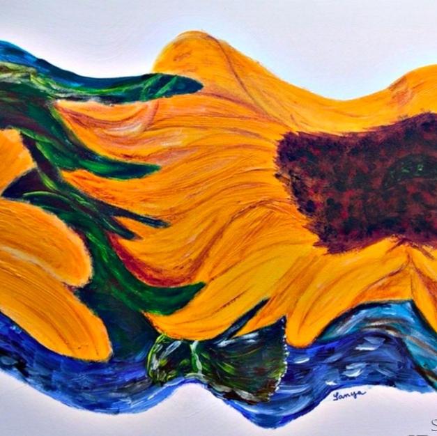 Sunflower Wave