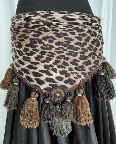 WILD THING! upcycled scarf