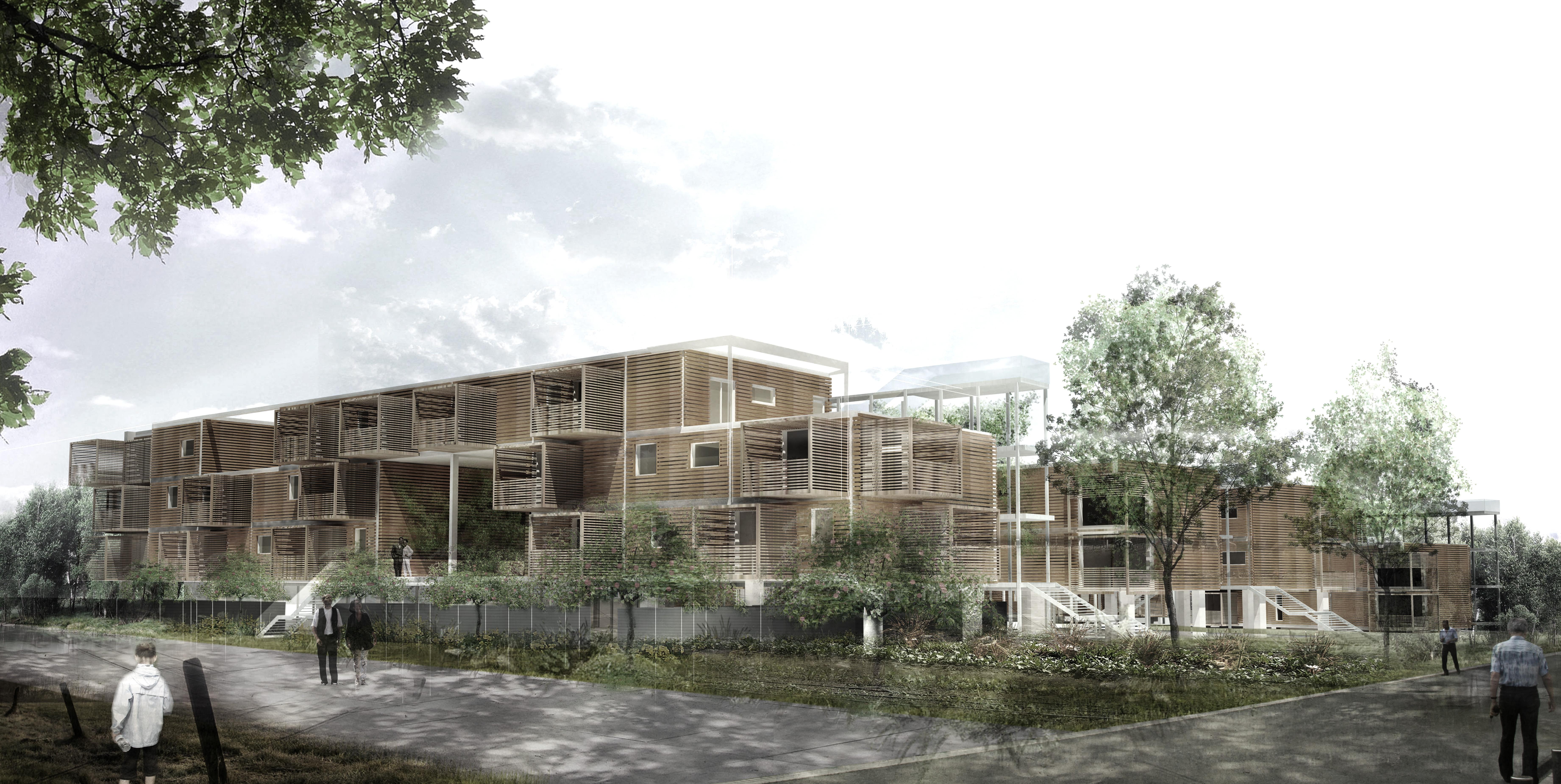 Concours - 60 logements BBC