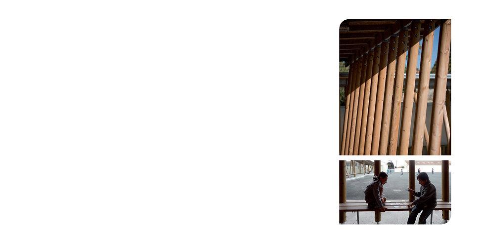 CLAA Christian Larroque Architectes Associés Ecole St Nazaire Atelier pédagogique