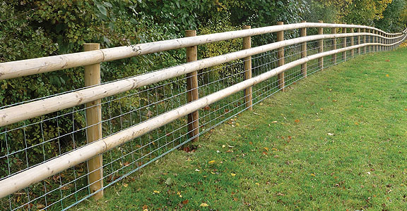 fencing post rail
