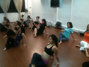 Bellydance to lose weight