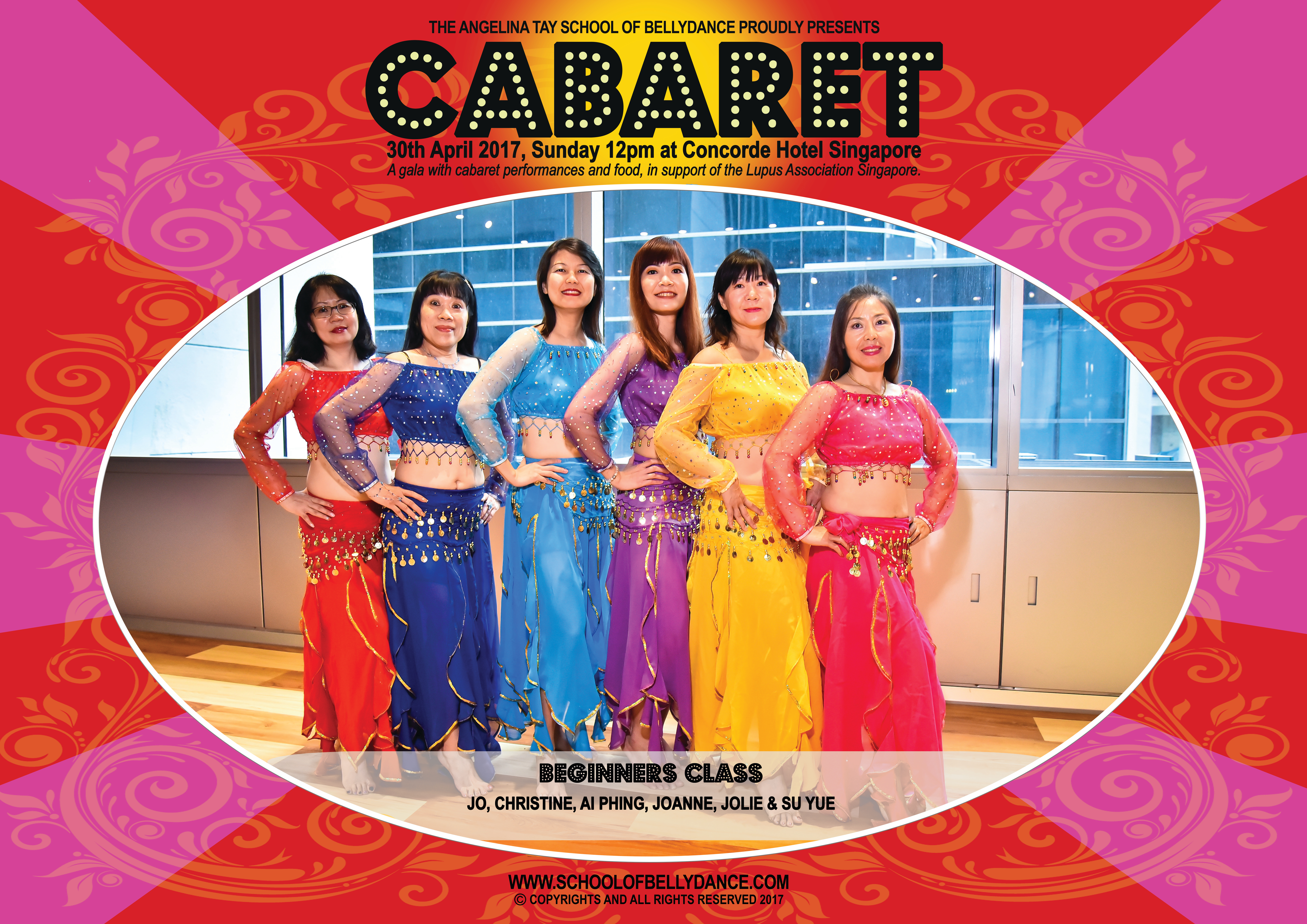 Cabaret 2017 by School of Bellydance
