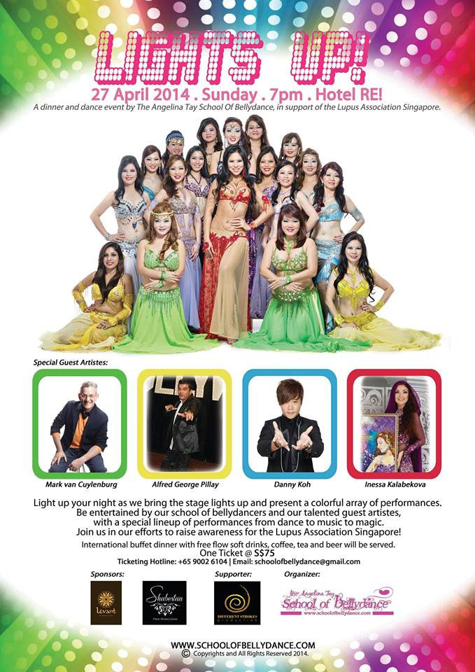 Bellydance Classes Singapore | The Angelina Tay School of Bellydance Singapore | www.schoolofbellydance.com