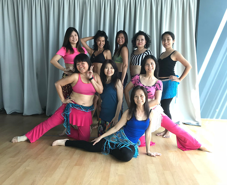 Bellydance Techniques Level 2 Class | The Angelina Tay School of Bellydance Singapore