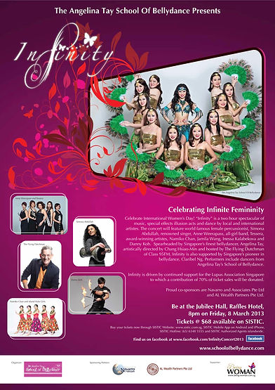 Bellydance gala event in support of the Lupus Association Singapore
