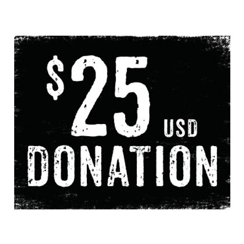$25 donation to WMF Concessions