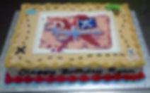 Birthday cake at Pirate Adventures Ottawa