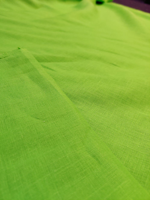 Green 100% Irish linen