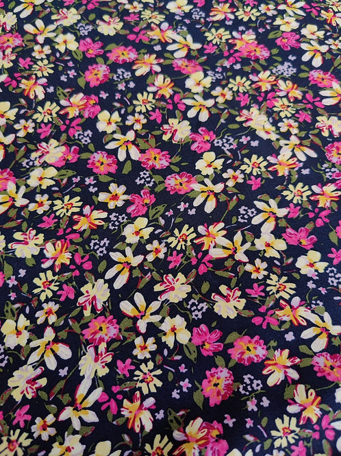 Pink Floral Party Viscose