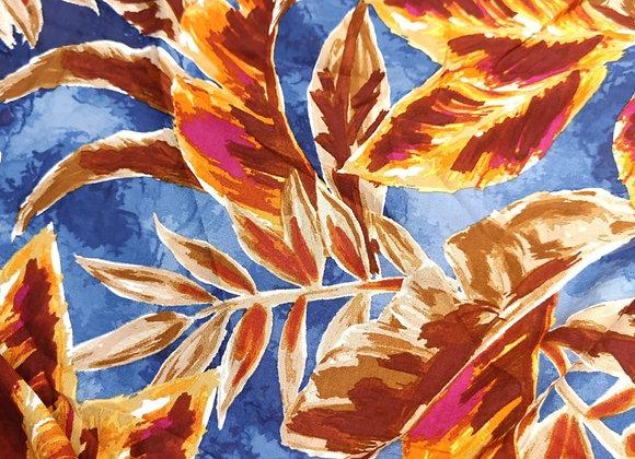 Watermark Floral Viscose - 1.25m piece