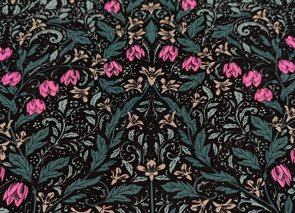 Damask Pink Viscose Twill
