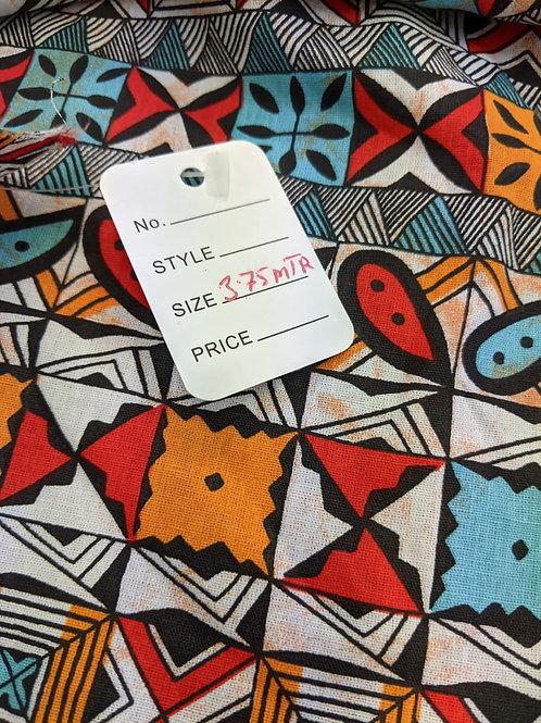 Aztec print - 3.75m
