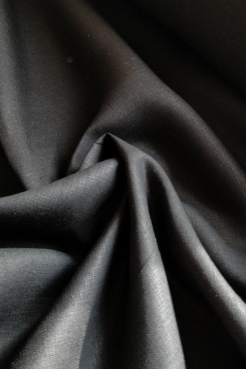 Black 100% Irish Linen