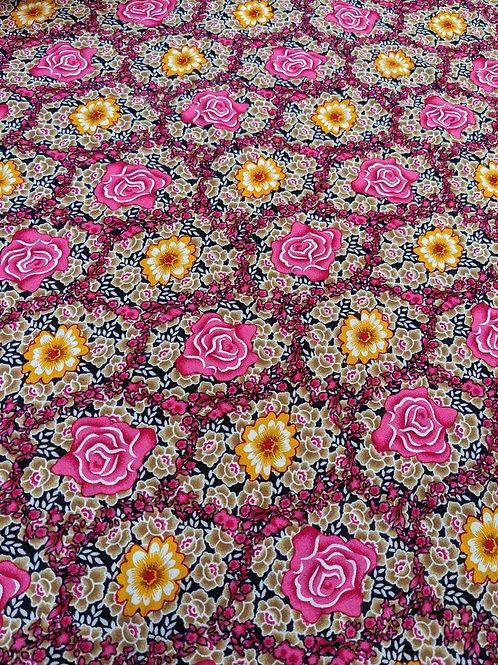 Mosaic Floral Viscose