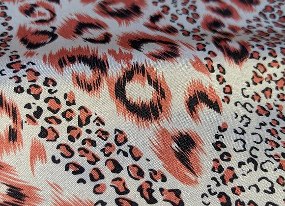 Leopard Print Satin