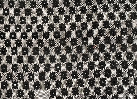 Black bordered Lace