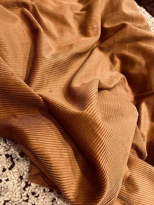 Camel Cotton Corduroy