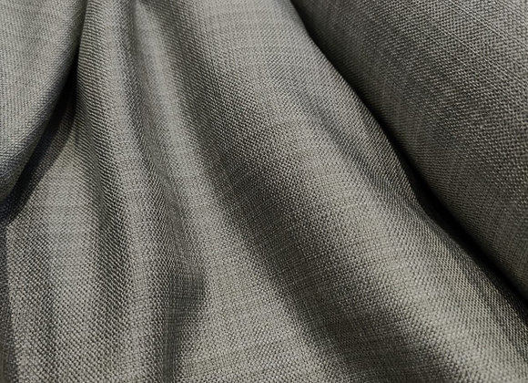 Grey/Silver Linen Look Upholstery Fabric