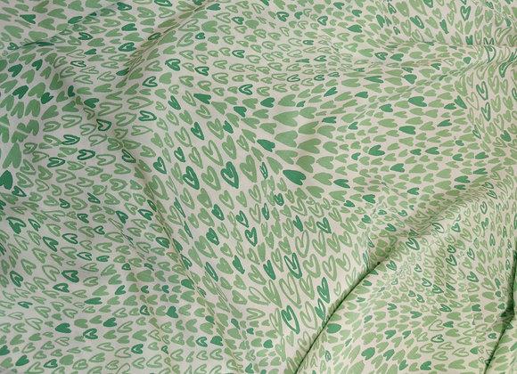 Green Hearts Viscose Marocaine