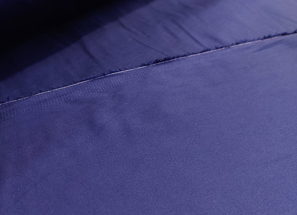 Navy 100% Cotton Sateen