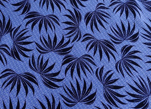Blue Zeena Viscose Cotton