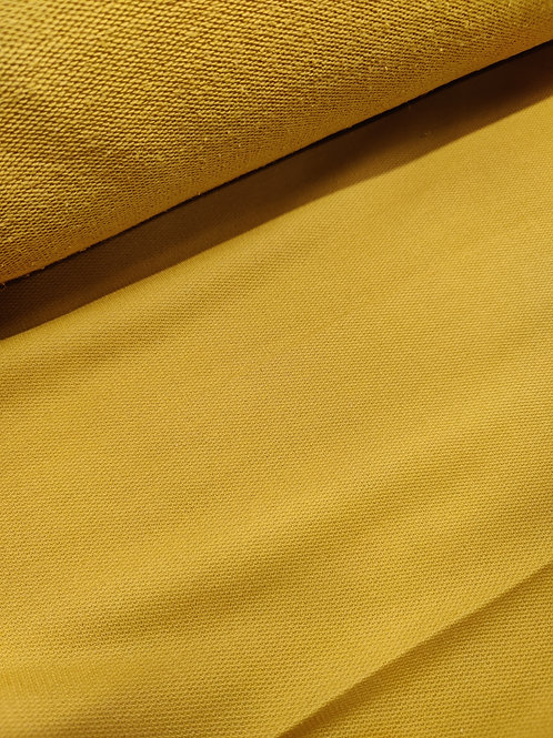 Mustard French Terry loopback