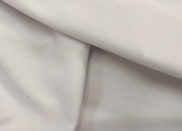 White Cotton Drill - 1.55m piece
