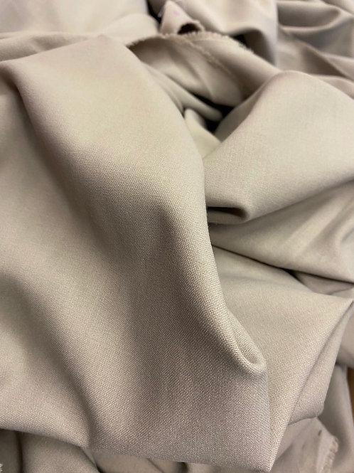 Beige Polyester Suiting Fabric