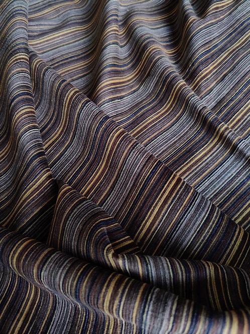 Brown/Camel/Navy Cotton Needlecord
